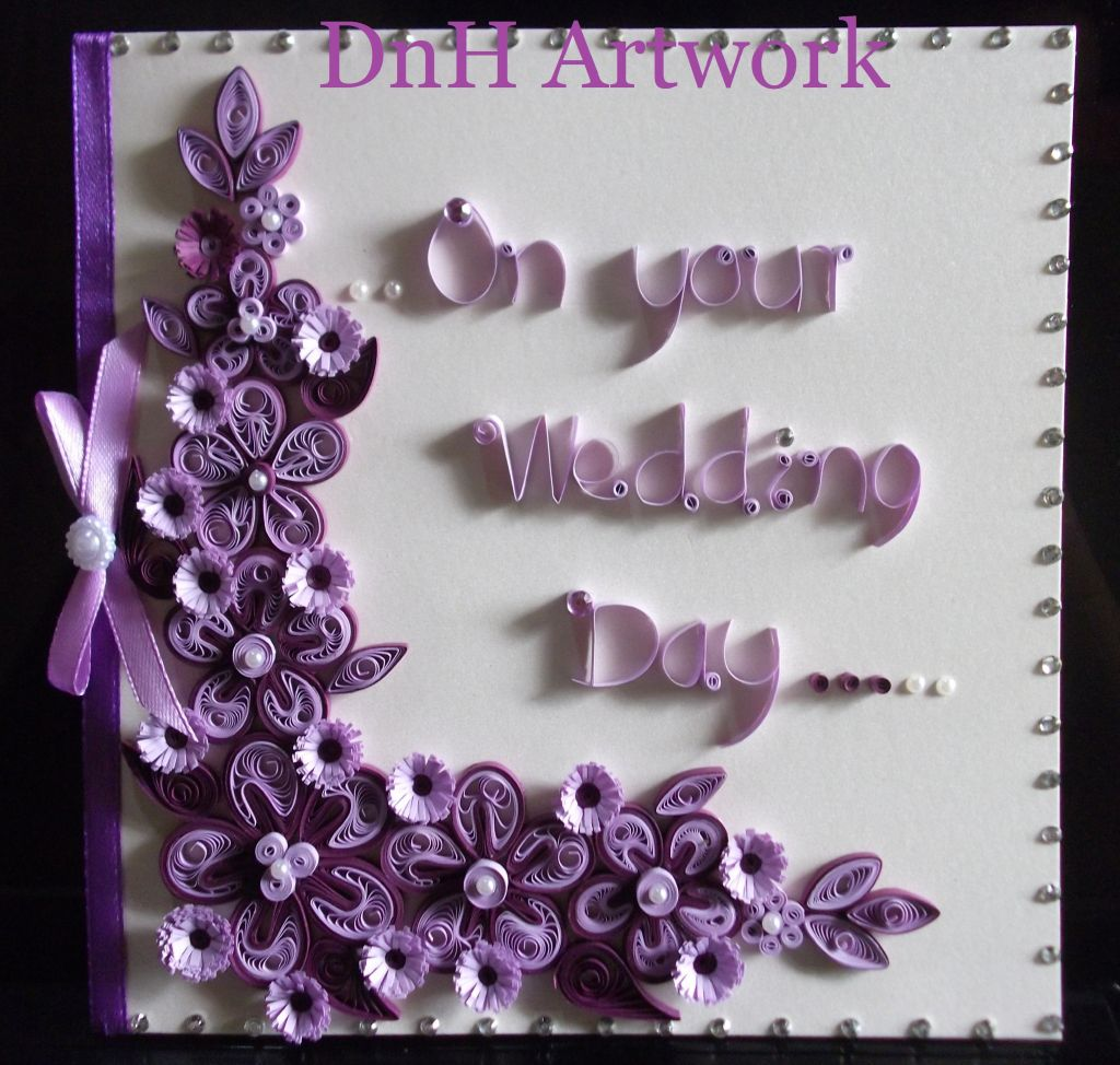 Quilling Greeting Card By Dnh Artworks Sri Lanka