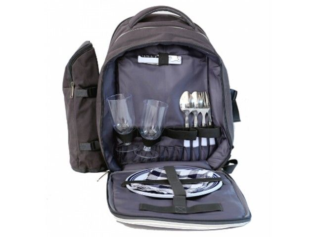 Picnic Bags For Plates Cutlery Set