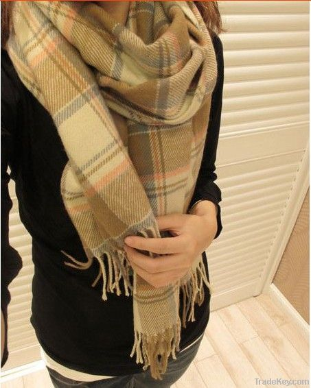 Qiu dong is more pure wool scarf shawls and extended warm scarf