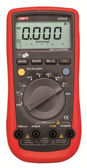 UNI-T Modern Digital Multimeters UT61A UT61B