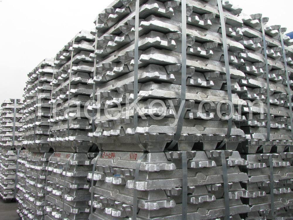 High Pure Aluminum Ingots 99.9%