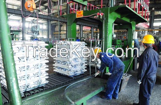 High Pure Aluminum Ingots 99.9% Factory Manufacture