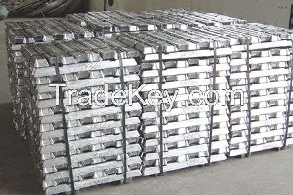 Aluminum Ingots 99.7%min