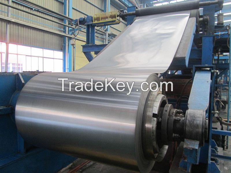 Standard Sizes Galvanized Steel Coils