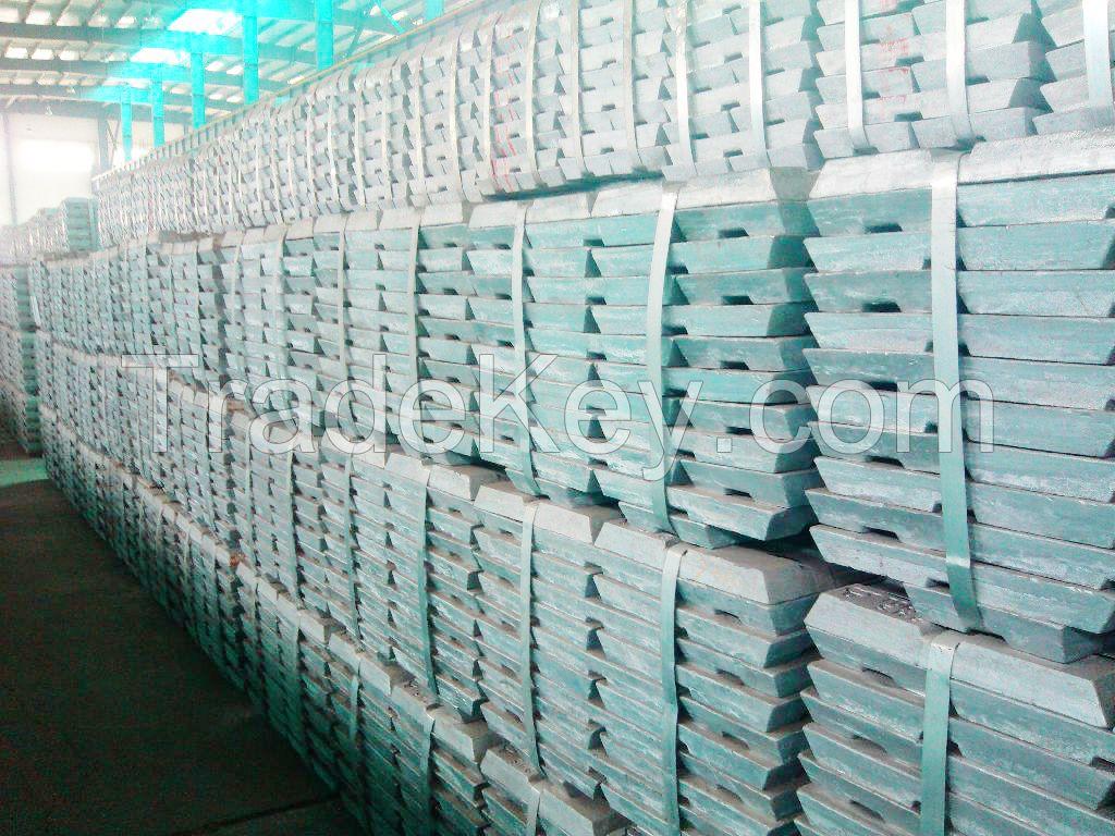 High Purity Zinc Ingot 99.99% Factory Price