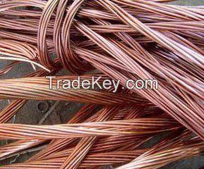 99.99%Copper Wire Scrap/Aluminum Wire Scrap