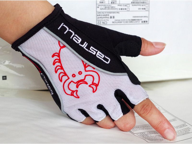 Newest Castelli Cycling Gloves Half -finger Bike /Race/ Bicycle gloves Summer Fingerless Sports Gloves