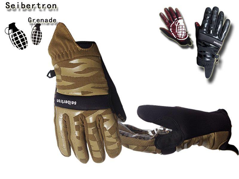 Seibertron Grenade CC935 Gloves Skateboard Gloves Profesional Autumn Sport Performance Gloves