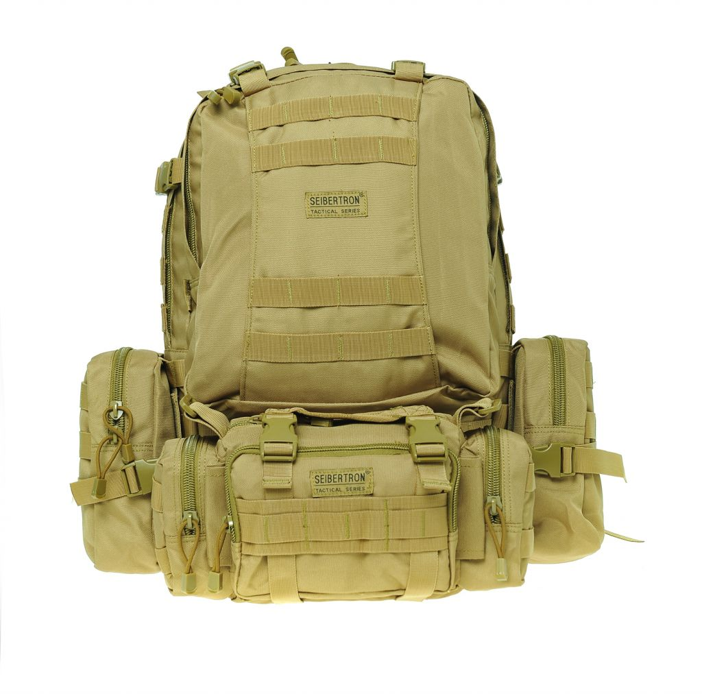 Seibertron Assault Pack Portfolio Bag- MultiCam