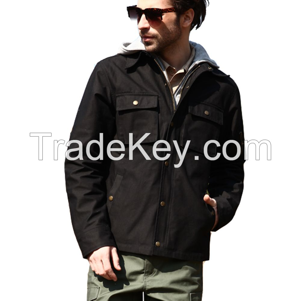 Seibertron Men Tactical Hooded Jacket