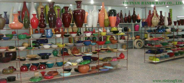 Vietnam Bamboo vases