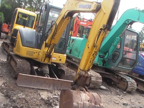 Used  Komatsu PC55MR-2 Used Komatsu Pc55 Excavator