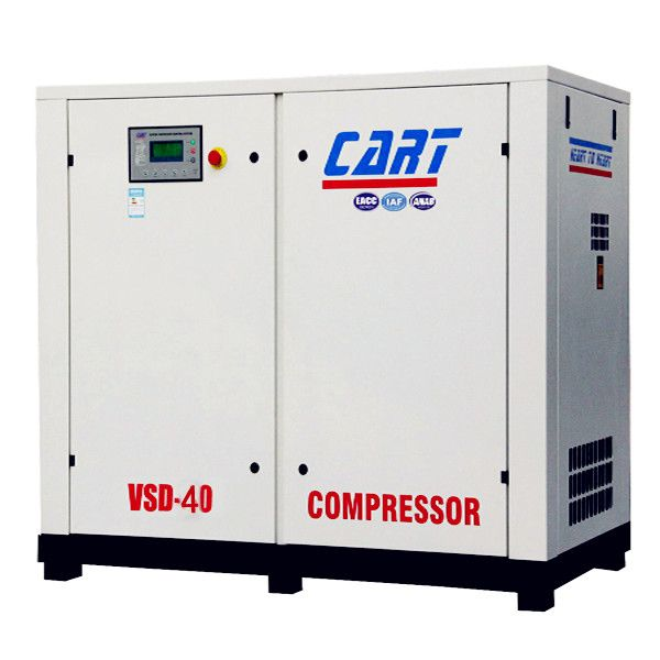 China 40HP(Variable frequency)30KW Screw air compressor with inverter