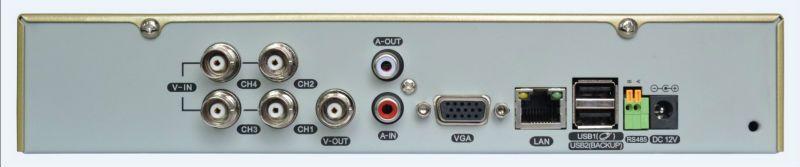 960H H264 compression 3G WIFI network standalone 4ch DVR