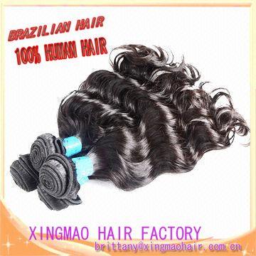 Factory price AAAAAA grade loose wave Brazilian virgin hair weave