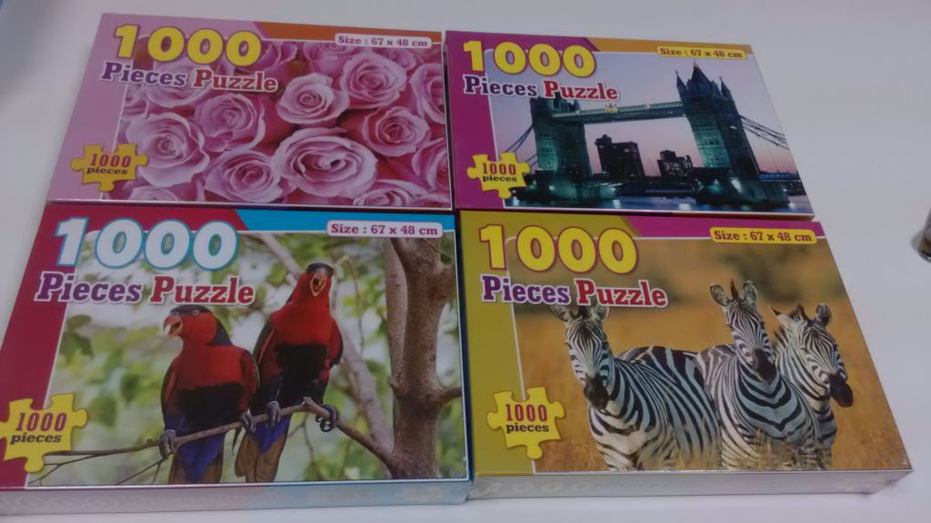 1000pcs jigsaw puzzle