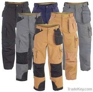 Multi Pockets Industry Work Trousers