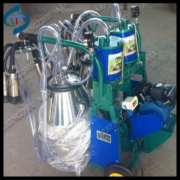 dairy farm cow goat piston milking machine