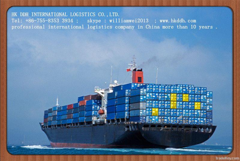 sea freight from shenzhen to worldwide