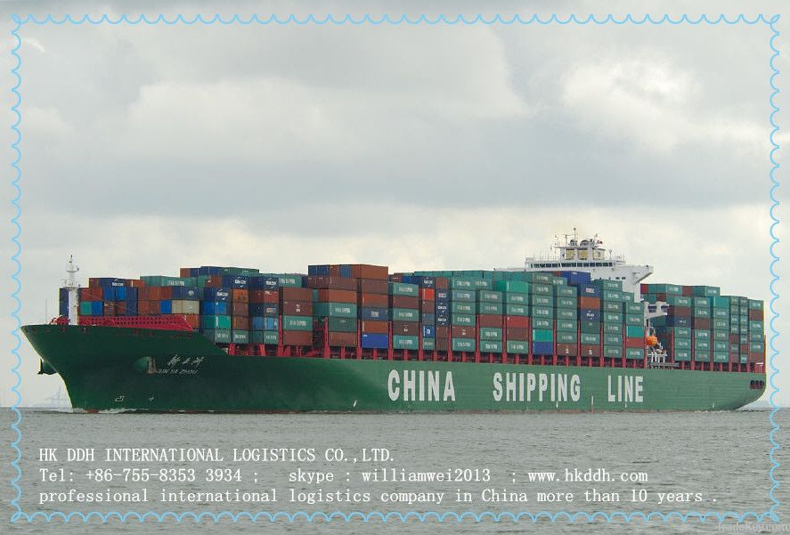 logistics company  from shenzhen to UK