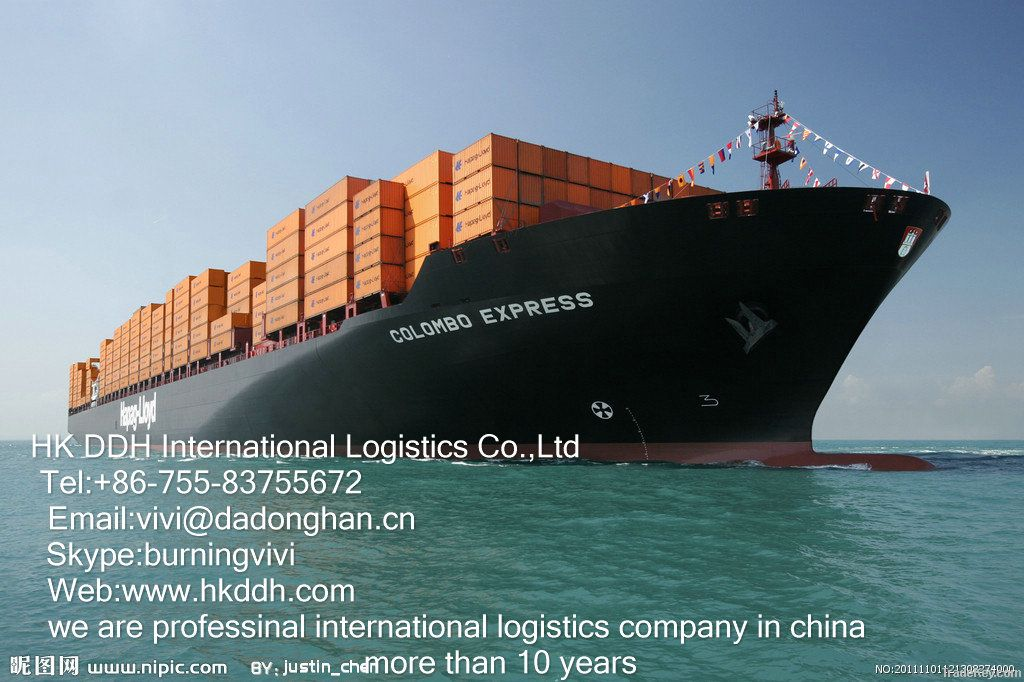 sea freight from shenzhen/ any port of china to port klang