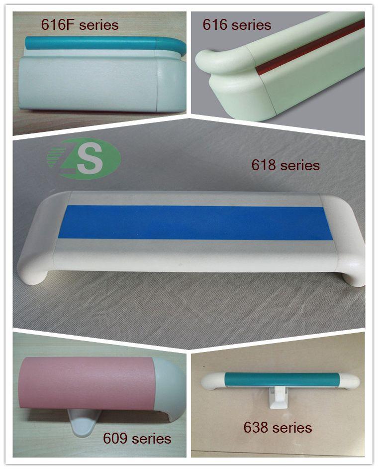 PVC/Vinyl and Aluminum Handrail for Hospital