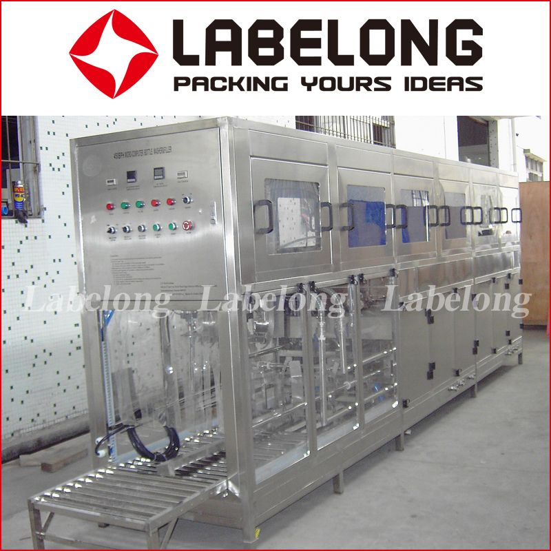 5 Gallon Barrel Bottle Water Filling Production Line