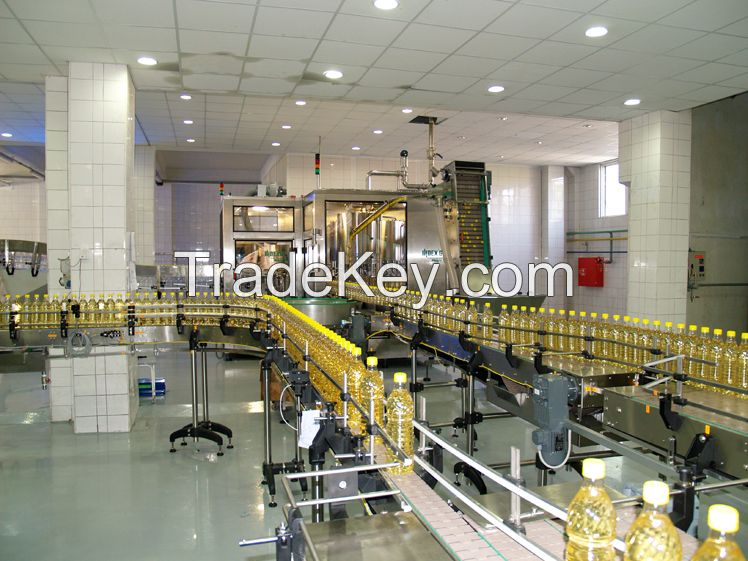 Automatic  PET Bottle/Glass bottle cooking/edible oil filling capping Machine manufacture