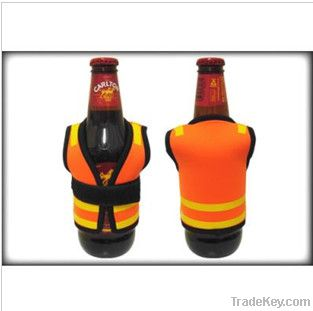 Beer Stubby Cooler with Clip