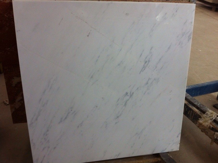 Chiese white marble