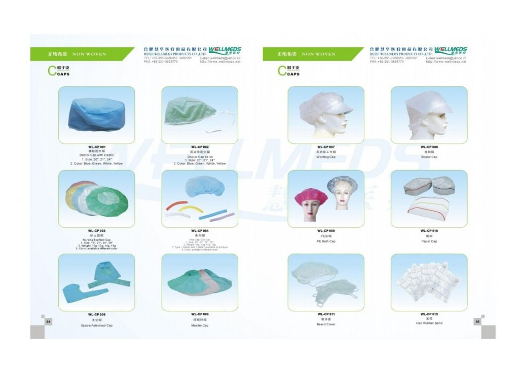Nonwoven Products  and  Disposable Medical  Consumable Commodities