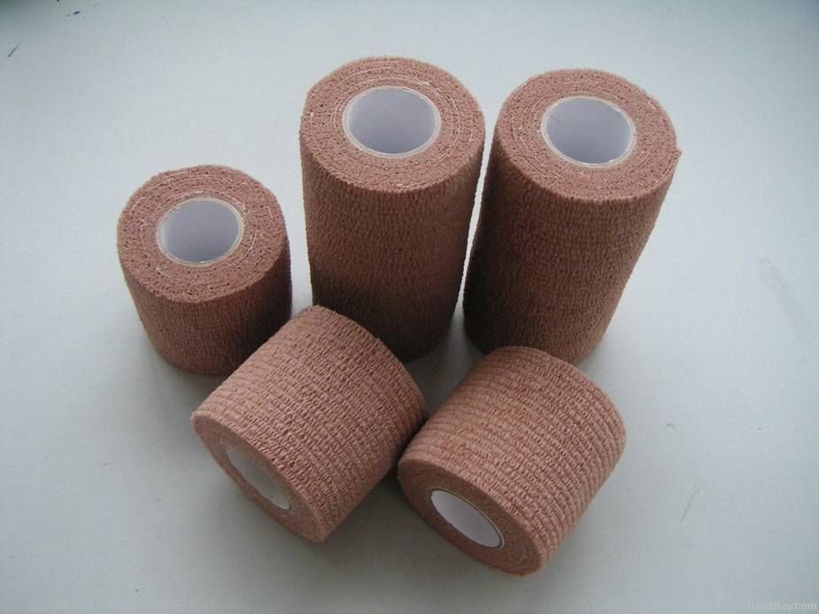 Latex Free Nonwoven Cohesive Flexible Bandage