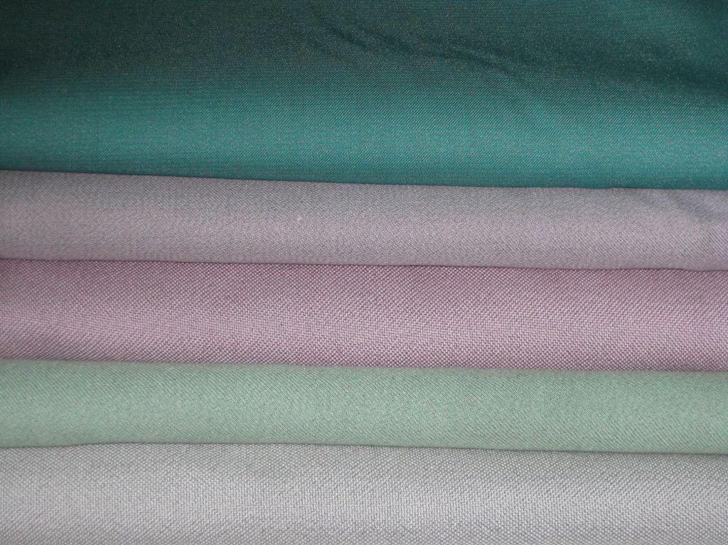 Bamboo Fiber and Ag Woven fabric