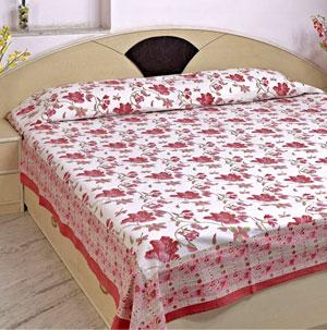 Screen Print Bed Sheets