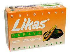 Original Likas Papaya Skin Whitening Herbal Soap