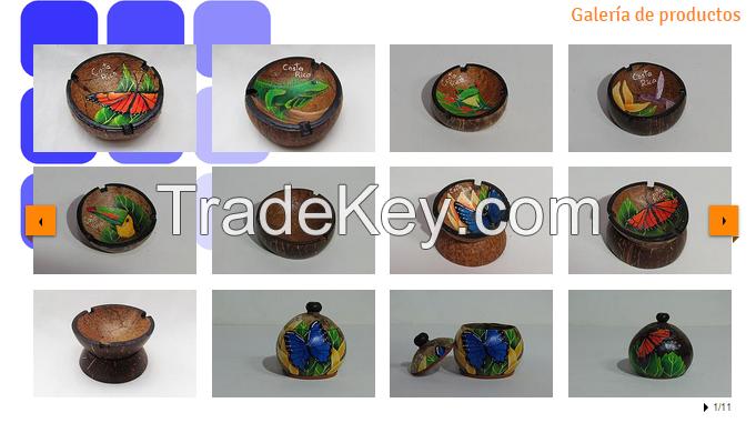 coconut artcrafts