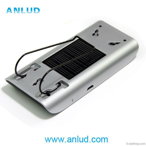 2014 ALD68 Real TTS voice dailing solar charging bluetooth speaker car