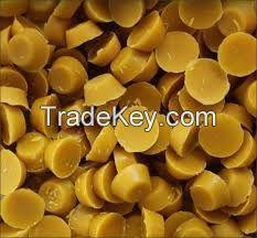 100 %  natural yellow honey beewax
