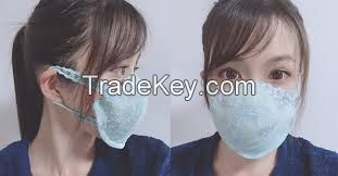 face  and  surgical  mask  for  the  fight against coronavirus or con vid  19  virus pandemic