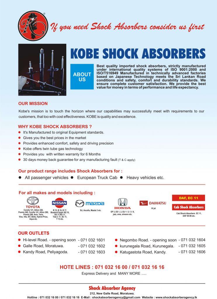 Brand New Shock Absorbers