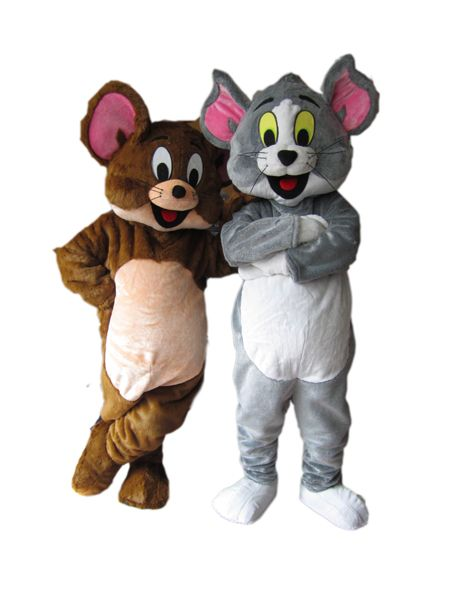 Tom and jerry cartoon adult cartoon kids costumes Halloween costumes