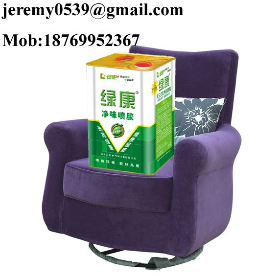 SBS spray adhesive for sofa making