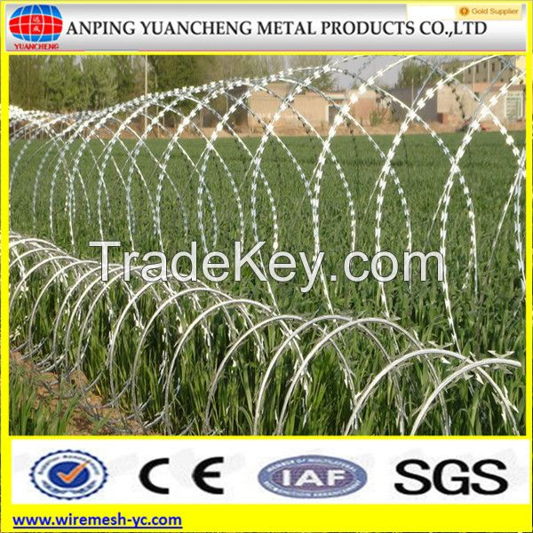 Barbed/razor wire