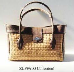 Zuffato Luxury Line Hand Braided Leather Women Bag