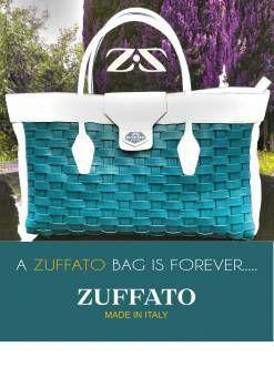Zuffato Luxury hand Braided Leather Bag