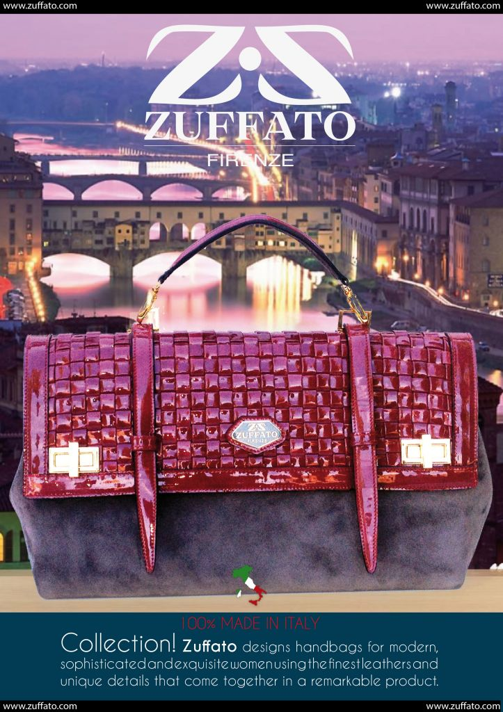 Zuffato Luxury Line Hand Woven Leather Women Bags Made in Italy