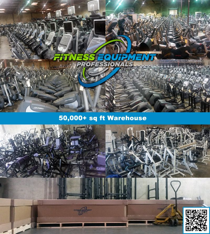 Used gym equipment - Precor, Life Fitness, Cybex, StairMaster