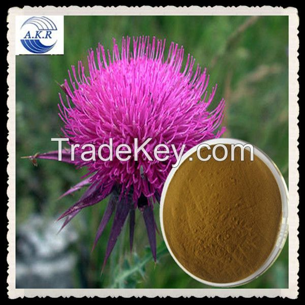 100% natural milk thistle extract silymarin