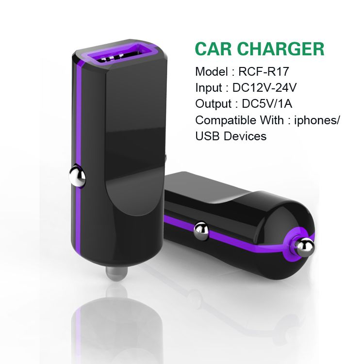 car charger for iphone5 charger with ce fcc rohs