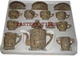 CANDLE, TEA SET, CANDI, PEDESTAL, WASHROOM SET,